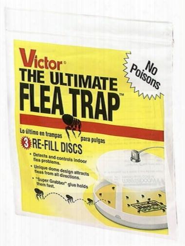 Victor Ultimate Flea Trap Refills (3 Pack)