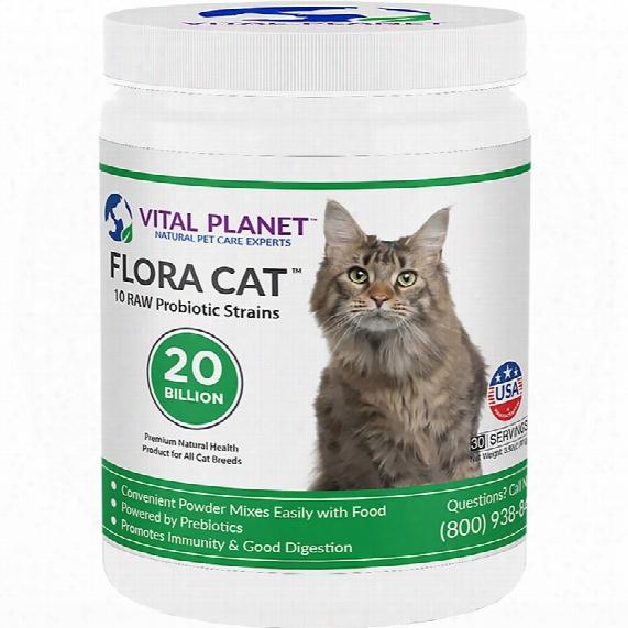 Vital Planet Flora Cat Powder  (3.92 Oz)