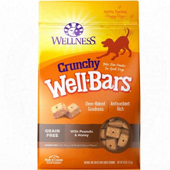 Wellness Wellbars - Crunchy Peanuts & Honey (45 Oz)
