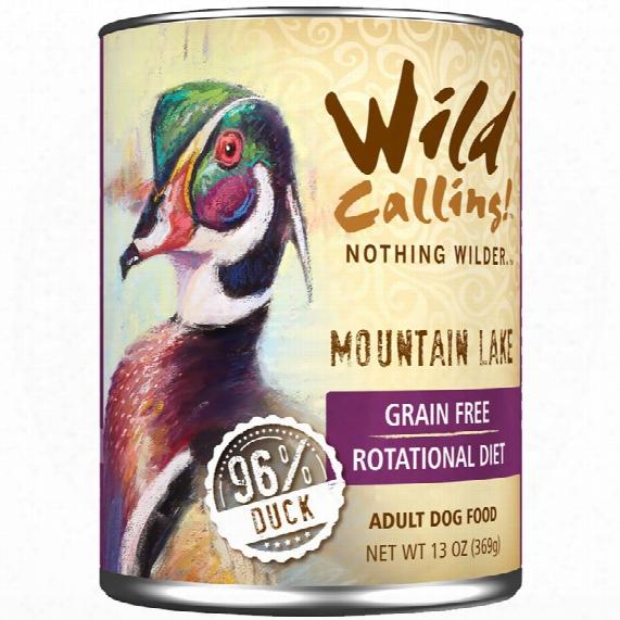 Wild Calling Mountain Lake Canned Dog Food - Duck (13 Oz)