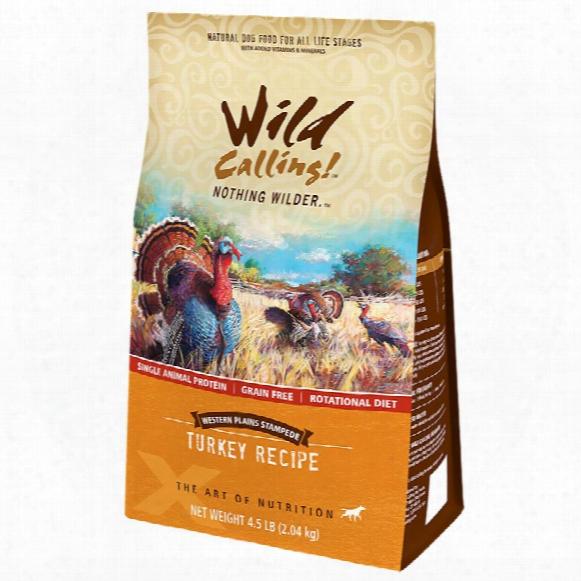 Wild Calling Western Plains Dog Food - Turkey (4.5 Lb)