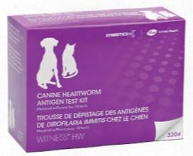 Witness Hw Heartworm Canine/feline Antigen Test Kitâ (10 Tests)