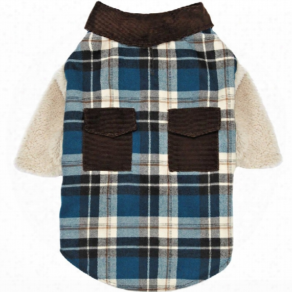 Zack & Zoey Flannel Shacket - Large