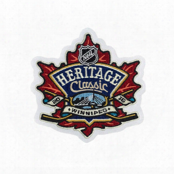 2016 Nhl Heritage Classic Jersey Patch