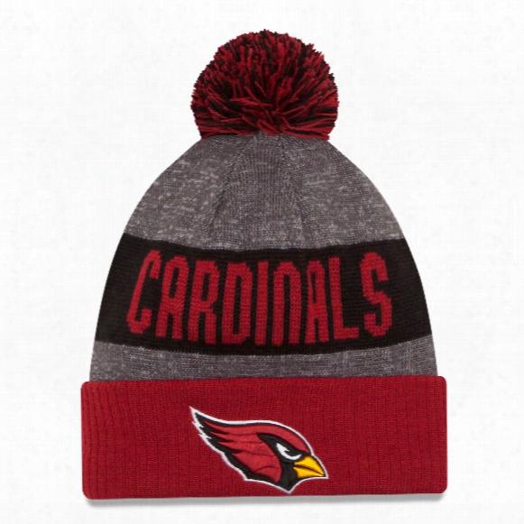 Arizona Cardinals New Era 2016 Nfl Official Sideline Sport Knit Hat