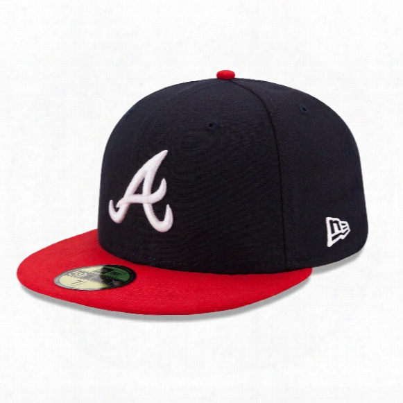 Atlanta Braves 2017 59fifty Authentic Fitted Performance Home Mlb Baseball Cap