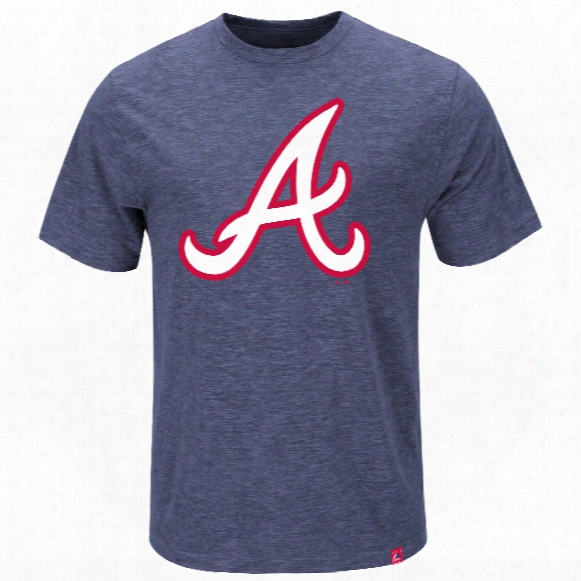 Atlanta Braves Mental Metal Slub T-shirt