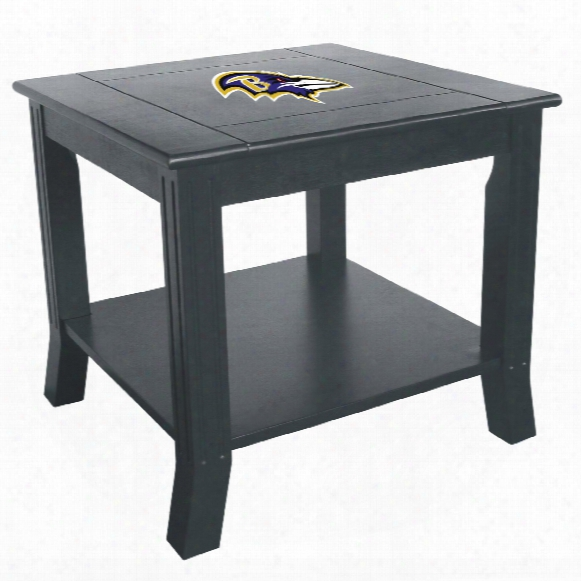 Baltimore Ravens Side Table