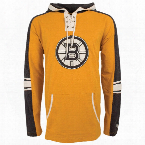 Boston Bruins Cable Lace Hoodie