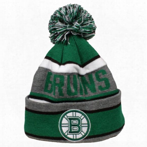 Boston Bruins Dugan Cuff Knit Pom Hat