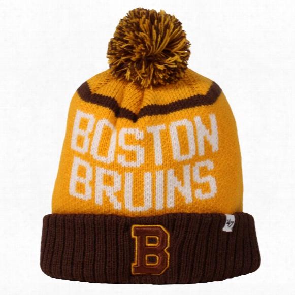 Boston Bruins Vintage Linesman Cuff Knit Hat
