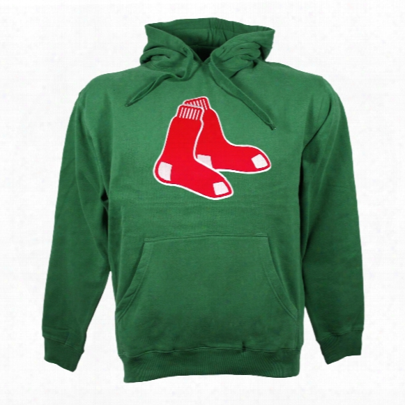 Boston Red Sox Twill Logo Hoody (green)