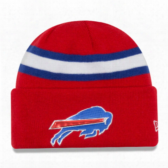 Buffalo Bills 2016 Nfl On Field Color Rush Cuff Knit Beanie