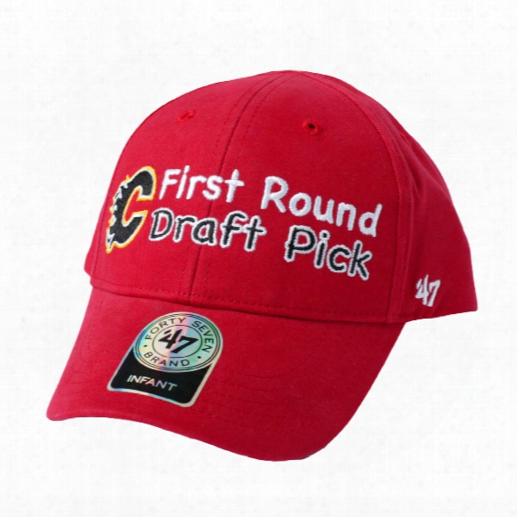 Calgary Flames Infant First Round Draft Pick Cap