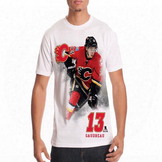 Calgary Flames Johnny Gaudreau Fx Highlight Reel Kewl-dry T-shirt