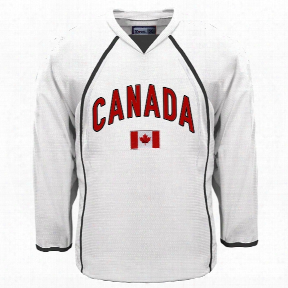 Canada  Mycountry Fan Hockey Jersey (white)