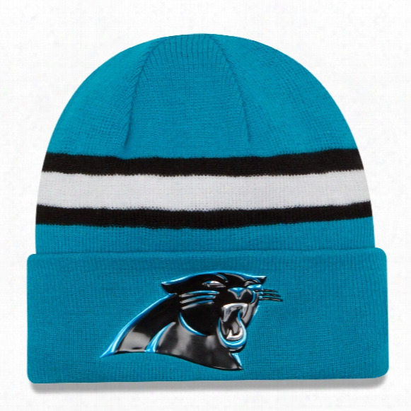 Carolina Panthers 2016 Nfl On Field Color Rush Cuff Knit Beanie
