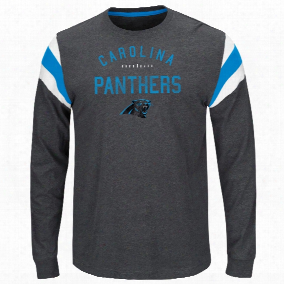 Carolina Panthers Showcase Lassic Nfl Long Sleeve T-shirt