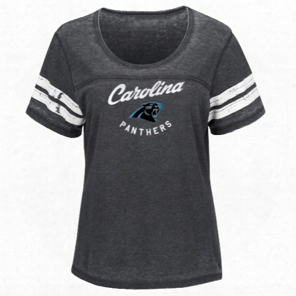 Carolina Panthers Women's Superstar Effort Nfl T-shirt
