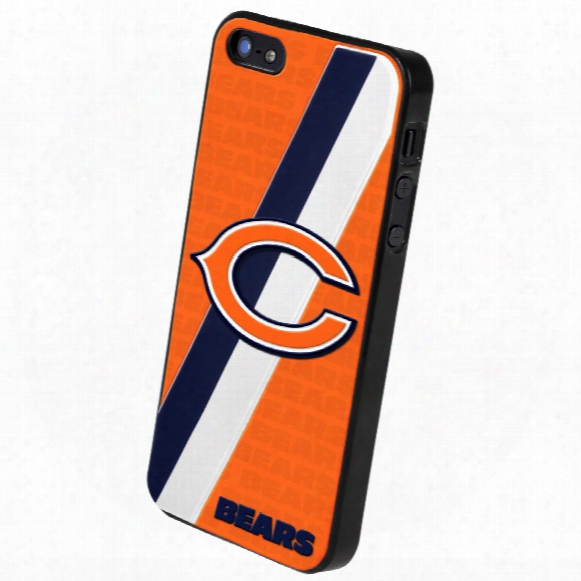 Chicago Bears Team Logo Hard Snap-on Apple Iphone 5 Case