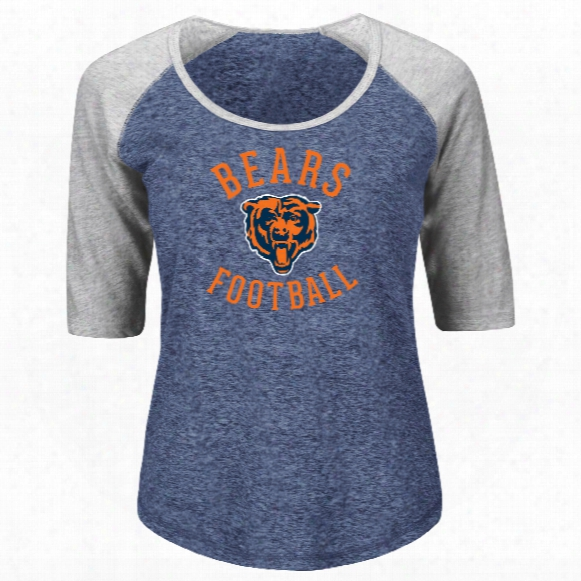 Chicago Bears Women's Act Like A Champion Nfl T-shirt