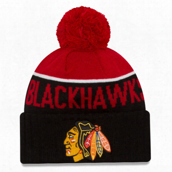 Chicago Blackhawks New Era Nhl Cuffed Sport Knit Hat