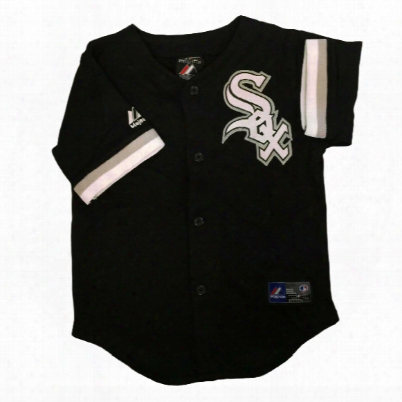 Chicago White Sox Majestic Child Alternate Replica Baseball Jersey (black)