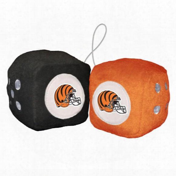 Cincinnati Bengals Fuzzy Dice
