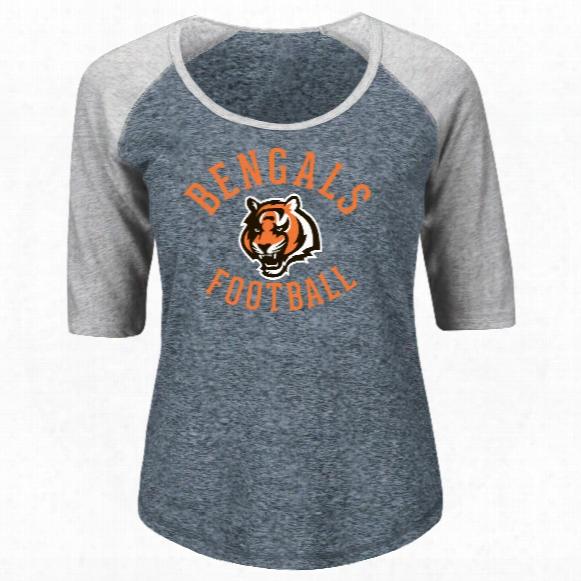 Cincinnati Bengals Women's Act Like A Champion Nfl T-shirt