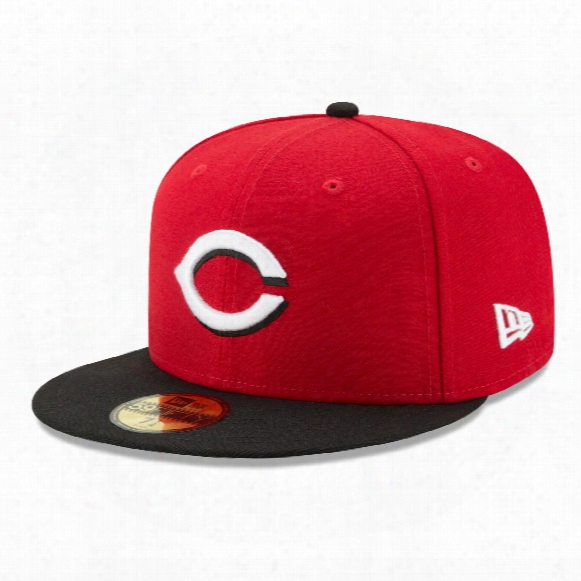 Cincinnati Reds 2017 59fifty Authentic Fitted Performance Road Mlb Baseball Cap