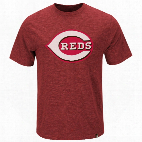 Cincinnati Reds Mental Metal Slub T-shirt
