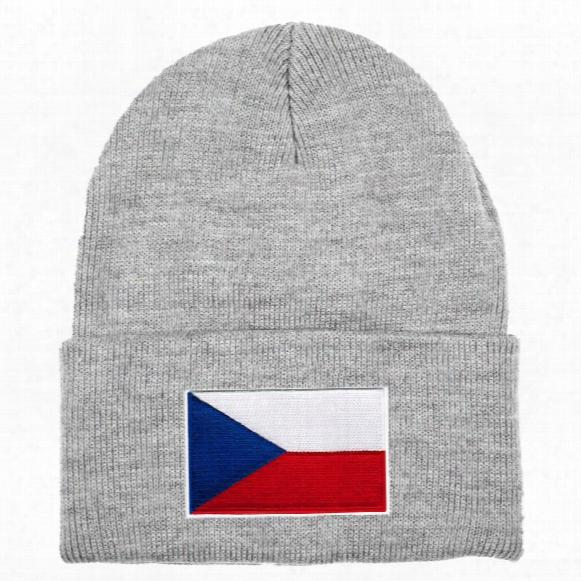 Czech Republic Mycountry Solid Knit Hat (sport Gray)