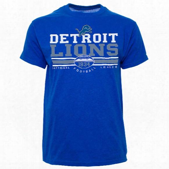 Detroit Lions Nfl Gridlock T-shirt