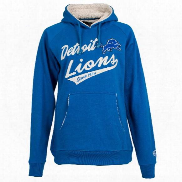 Detroit Lions Nfl Women's Flair Hoodie
