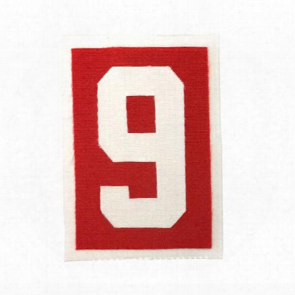 Detroit Red Wings '9' Gordie Howe Memorial Patch (home)