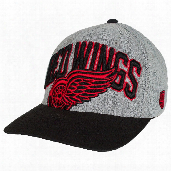 Detroit Red Wings Chopper Stretchfit Cap