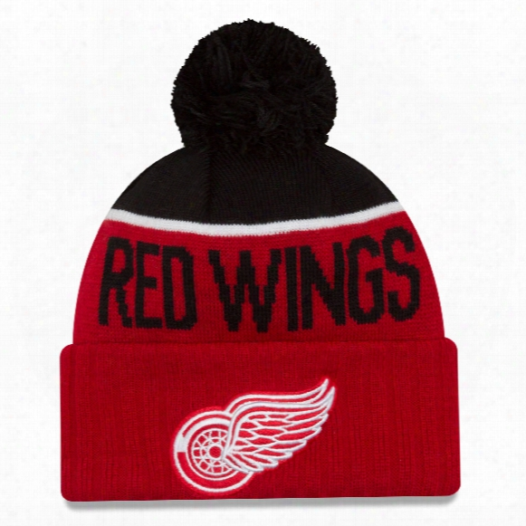 Detroit Red Wings New Era Nhl Cuffed Sport Knit Hat