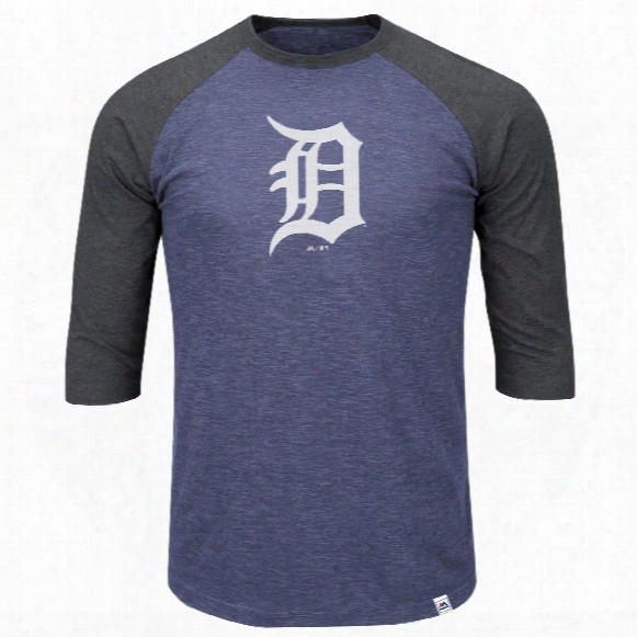 Detroit Tigers Grueling Ordeal 3 Quarter Sleeve T-shirt