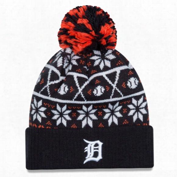 Detroit Tigers Mlb Sweater Chill Knit Hat