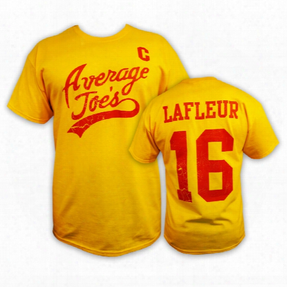*dodgeball* Average Joe's #16 Peter Lafleur T-shirt