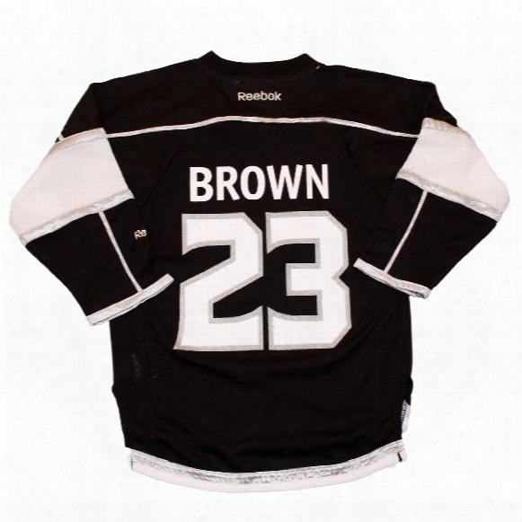 Dustin Brown Los Angeles Kings Reebok Child Replica Home Nhl Hockey Jersey