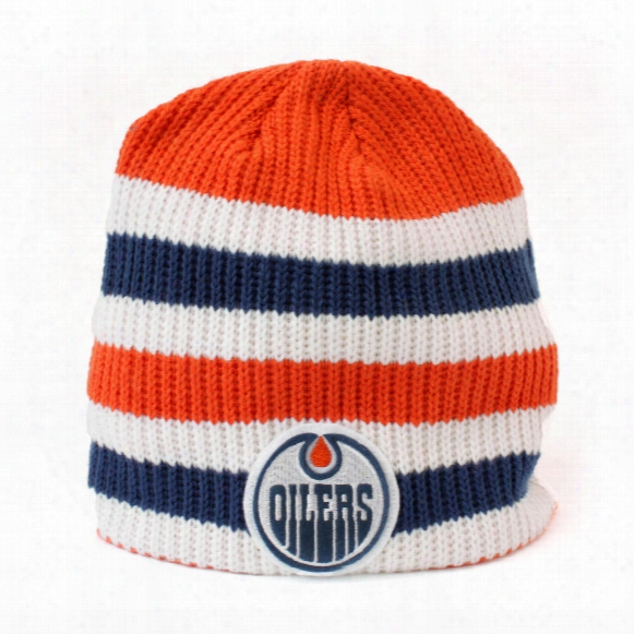 Edmonton Oilers 2016 Nhl Heritage Classic Player Knit Beanie