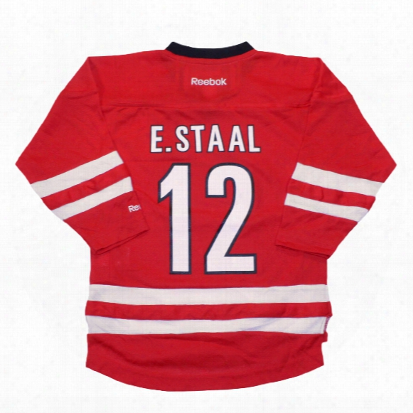 Eric Staal Carolina Hurricanes Reebok Child Replica Home Nhl Hockey Jersey
