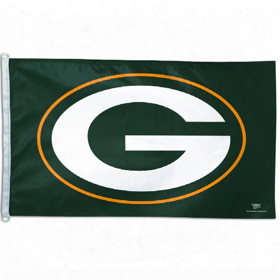 Green Bay Packers 3' X 5' Team Logo Flag