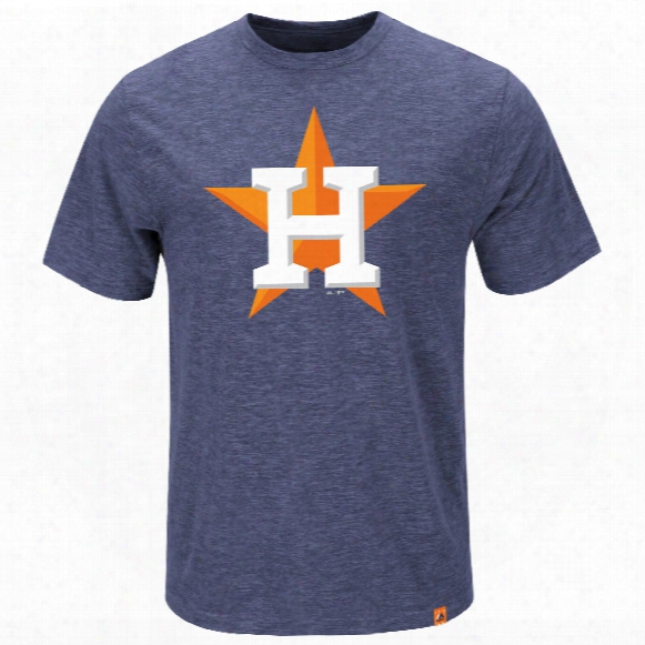 Houston Astros Mental Metal Slub T-shirt