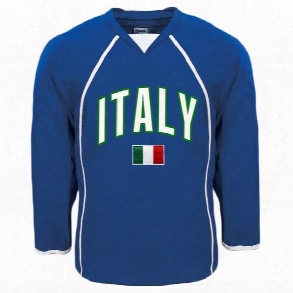 Italy Mycountry Fan Hockey Jersey