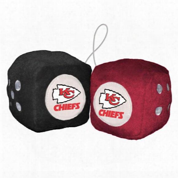 Kansas City Chiefs Fuzzy Dice