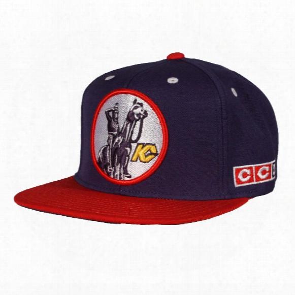 Kansas City Scouts Ccm Vintage 2-tone Snapback Cap