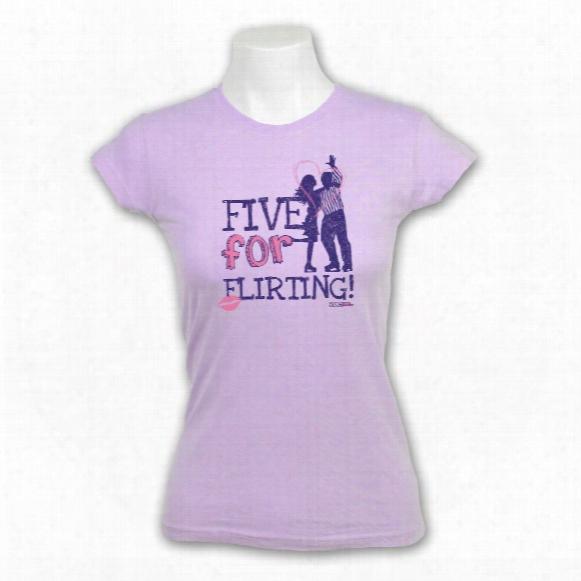 Kractice Women's Five For Flirting Fine Jersey Vintage T-shirt (lavender)