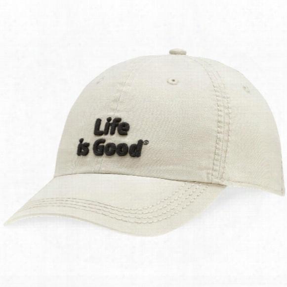 Life Is Good Classic Chill Cap (bone)
